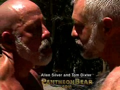Hairy daddies Allen Silver and Tom Dixter. Posted by: Pantheon Bear