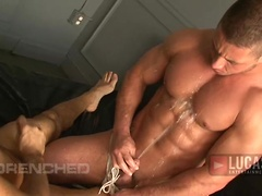 Michael Lucas Humiliates Beefcake Marc Dylan with Waves of Piss. Posted by: Lucas Raunch