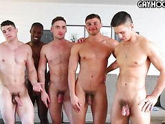 HOT Gay Orgy: Collin Simpson with Tyler, Alex, Forrest and Zach. Posted by: Gayhoopla