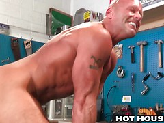 HotHouse Drilldo for Hairy Daddys Horny Ass. Posted by: Hot House Backroom