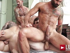 Ass-hammering Hardware Fire Island Orgy (Part 02). Posted by: Lucas Entetainment