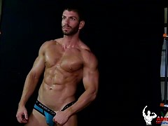 Beautiful Zack Daniels solo. Posted by: American Muscle Hunks